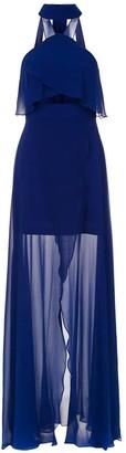 Tufi Duek long silk dress