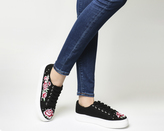 Office Flip Embroidered And Studded Trainers