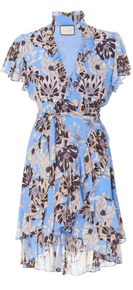 Alexis Melyssa Floral-Print Georgette Mini Dress