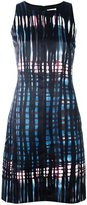 Tomas Maier abstract print dress