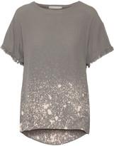 Kain Label Luli draped printed crepe T-shirt