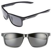 Nike Men's Essential Chaser 59Mm Polarized Sunglasses - Matte Black