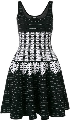 DSQUARED2 patterned intarsia dress