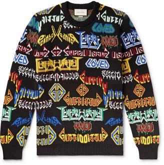 Gucci Wool-Jacquard Sweater