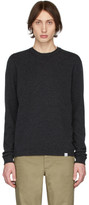 Norse Projects Grey Lambswool Sigfred Sweater