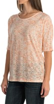 Woolrich Endless Spaces Burnout T-Shirt - Short Sleeve (For Women)