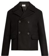 Acne Studios Merge Wool Pea Coat