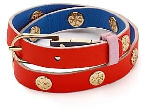Tory Burch Reversible Wrap Buckle Bracelet