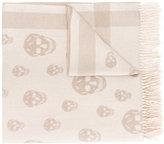 Alexander McQueen Skull print scarf - women - Cashmere/Wool - One Size