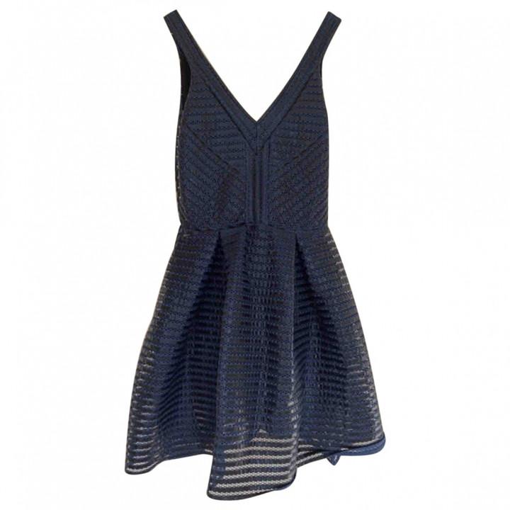Maje Blue Lace Dresses