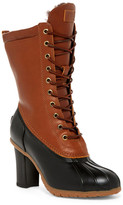 Australia Luxe Collective Havea Heels Tall Genuine Shearling Boot
