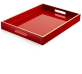 Home Design Studio Home Design Studio Large Light Lacquer Handled Tray