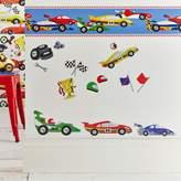 Graham & Brown Kids Pit Stop Cars Multi Border