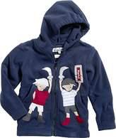 Playshoes Boy's Full Zip Fleece Jacket with Hood,(Manufacturer Size:140)