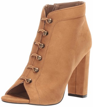 Michael Antonio Women's Carell Ankle Boot tan 6 M US