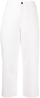 The Row Wide-Leg Cropped Trousers