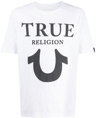 True Religion logo print T-shirt