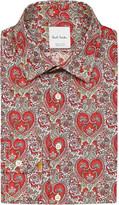 Paul Smith Graphic flower print cotton shirt