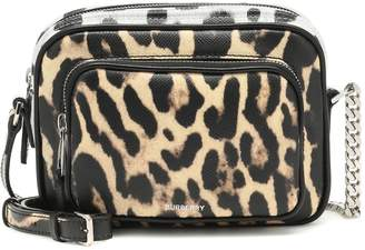 Burberry Animal-Print Camera shoulder bag