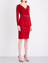 Max Mara Narsete stretch-wool dress