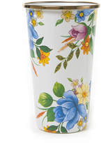 Mackenzie Childs MacKenzie-Childs - Flower Market Enamel Tumbler - White