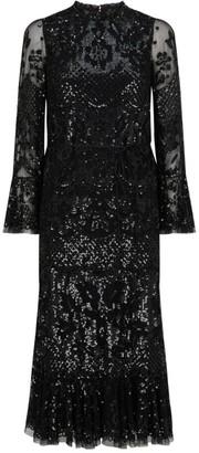 Needle & Thread Snowdrop Flare Dress