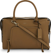 DKNY Chelsea large leather satchel