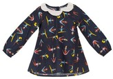 Margherita Toddler Girl's Stretching Print Top