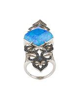 Stephen Webster crystal haze long finger ring