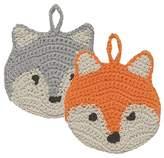Now Designs Animal Tawashi Scrubbers, Freddy Fox