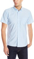 Izod Uniform Men's Short Sleeve Oxford Shirt