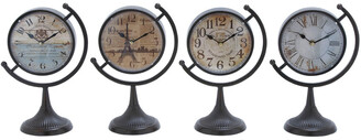 Uma Enterprises Set Of Four Desk Clocks