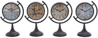 Uma Enterprises Set Of Four Desk Clocks