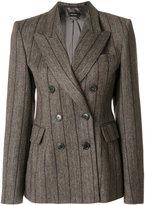 Isabel Marant Kelsey double-breasted jacket - women - Linen/Flax/Viscose/Virgin Wool - 36