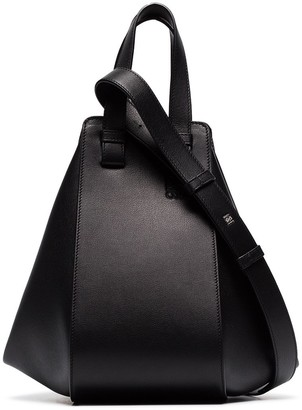 Loewe black Hammock small leather shoulder bag