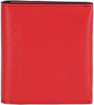 Neil Barrett Embossed Lettering Bifold Card Holder