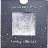 Wanderlust + Co Aquarius Cosmic Necklace in