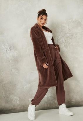 Missguided Oversized Faux Fur Coat