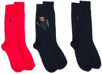 Ralph Lauren polo branded socks