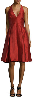 Halston Sienna A-Line Dress