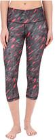 adidas Performer Mid Rise 3/4 Tights - Milano Scatter Print