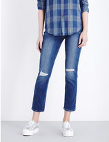 Paige Miki straight mid-rise jeans