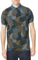 Etro Camo Cotton Polo