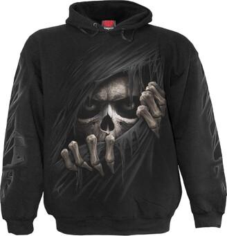 Spiral Direct Spiral - Men - Grim Ripper - Hoody Black S