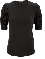 Frame Balloon Sleeve Cotton T-Shirt
