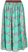 Kristina Ti floral print midi dress