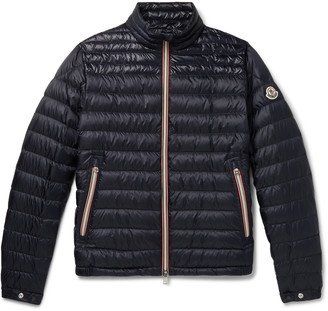 Moncler Daniel Webbing-Trimmed Quilted Shell Down Jacket