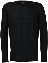Roberto Collina classic crew neck jumper - men - Nylon/Alpaca - 46