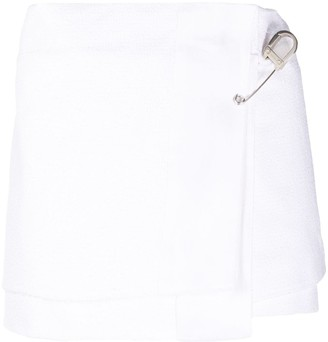 Prada Rush Stitch Mini Skirt