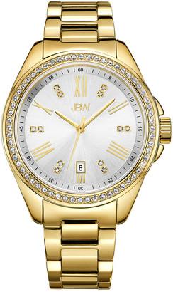 JBW Women's Capri Diamond & Crystal Watch